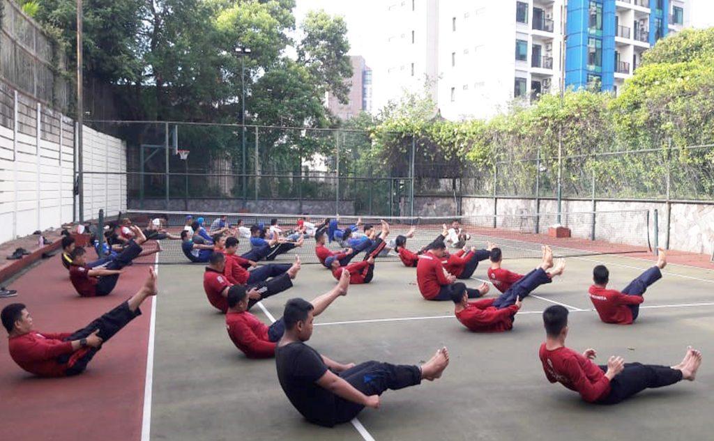 pelatihan bela diri