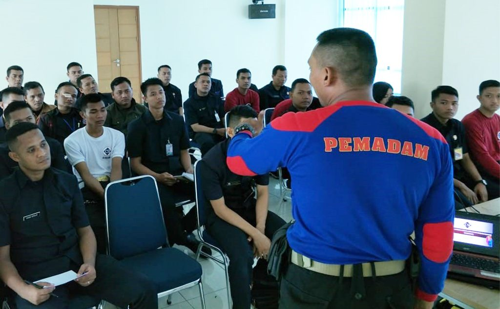 training emergency kebakaran