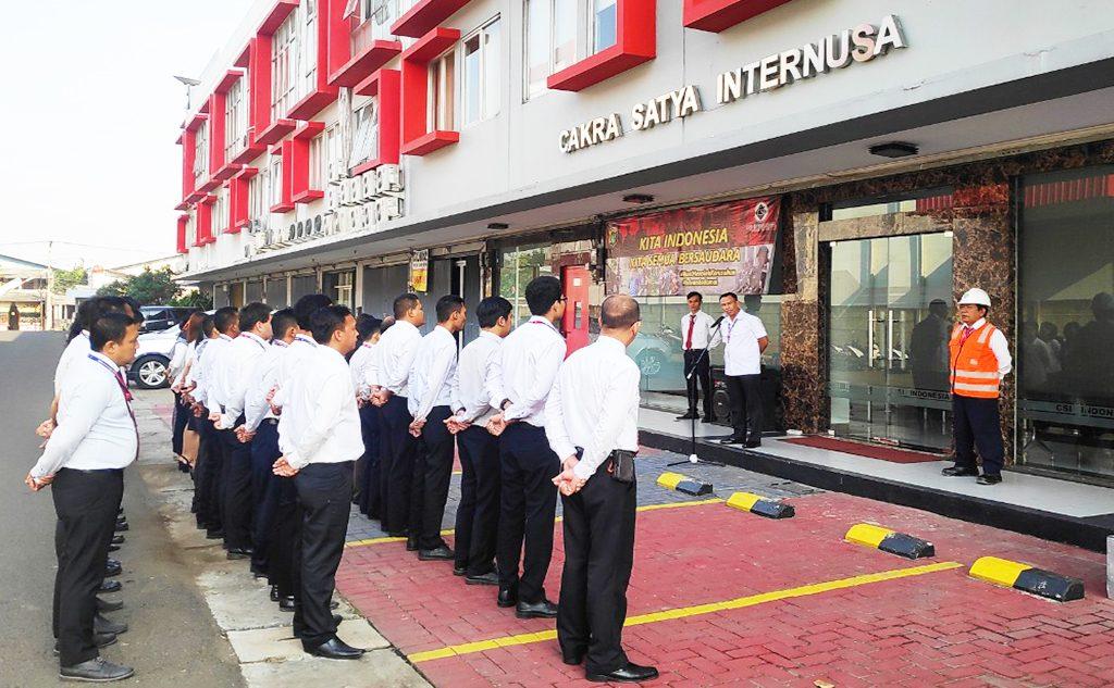 giat upacara csi indonesia